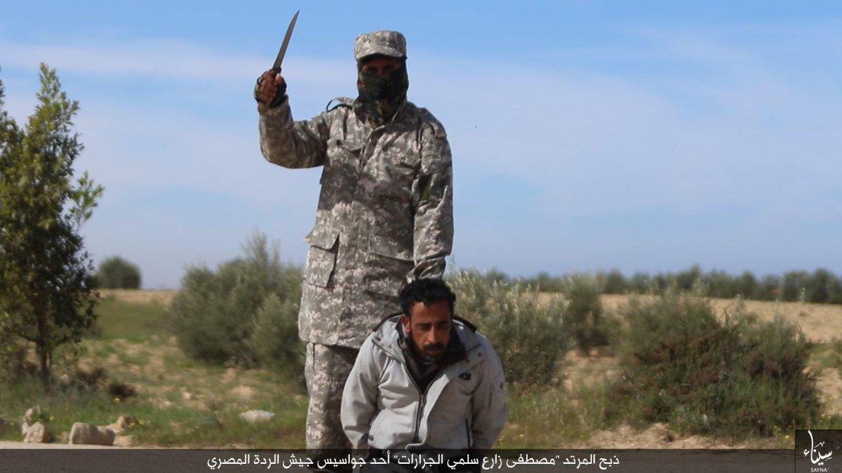 Isis egypt beheading