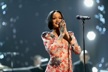 Rihanna Grammys MusiCare