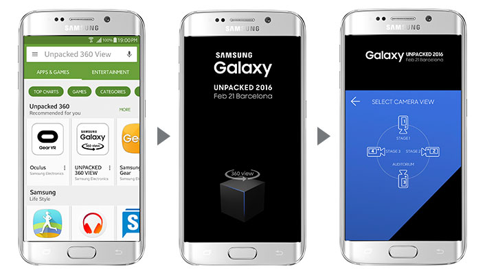 Samsung Galaxy Unpacked 360