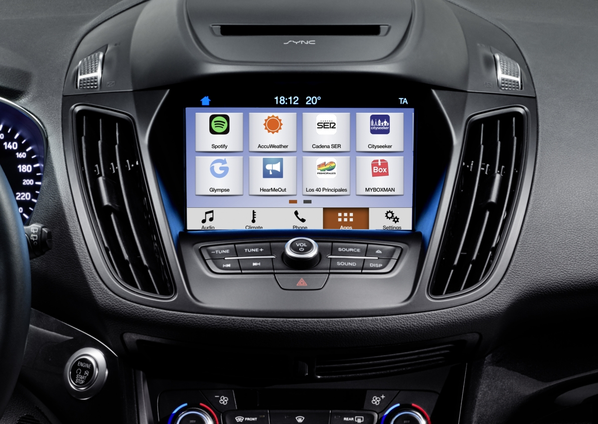 ford sync 3 comes to uk and europe with apple carplay and larger screen. Black Bedroom Furniture Sets. Home Design Ideas