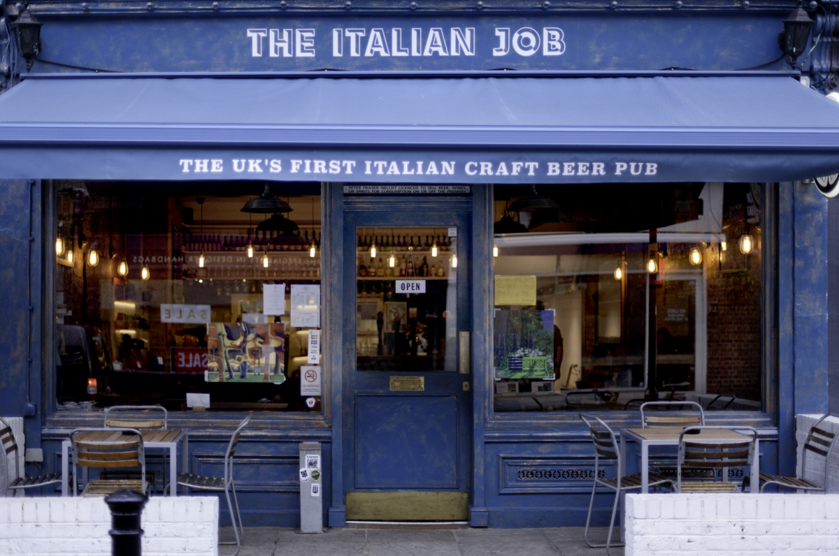 The Italian job - craft beer