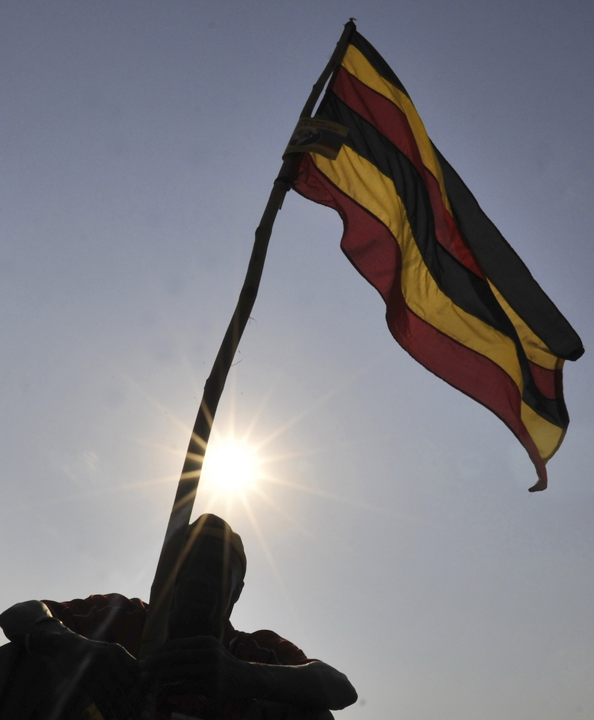 Uganda's flag