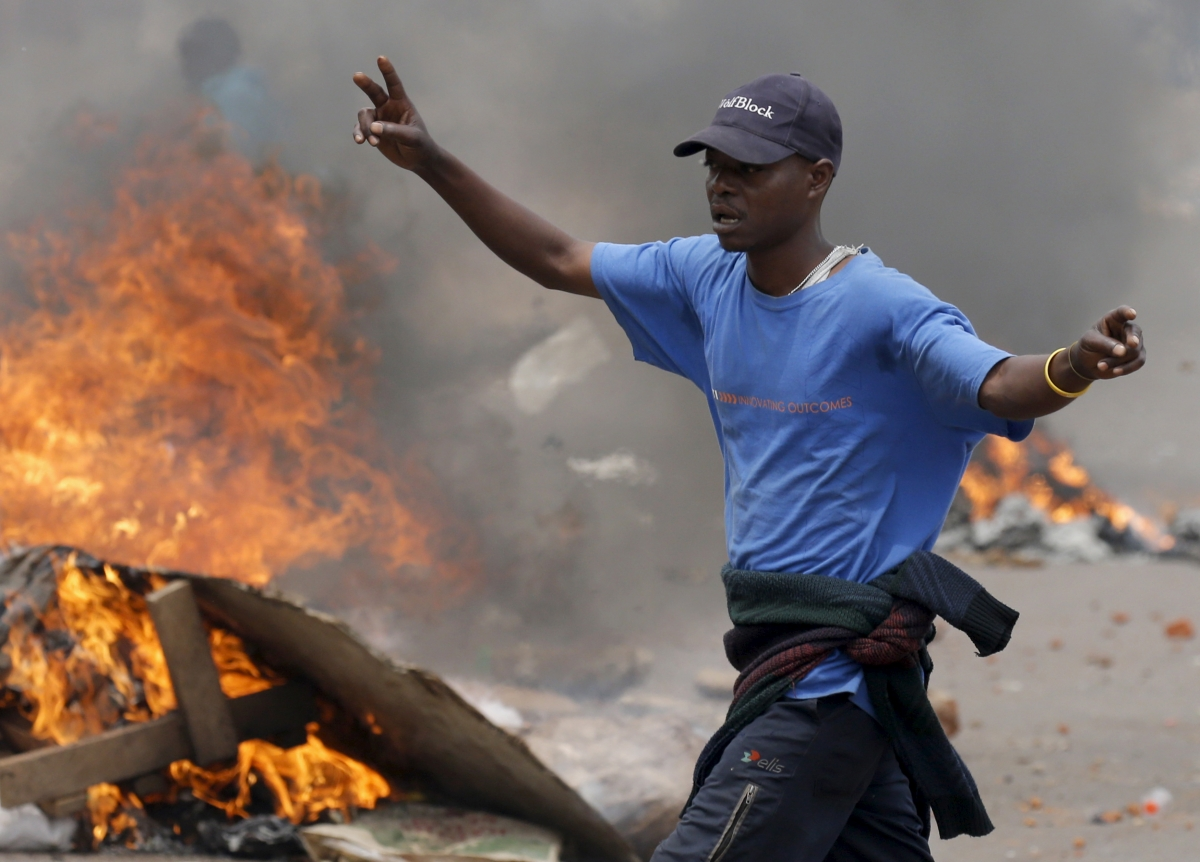 Clashes in Kampala, Uganda