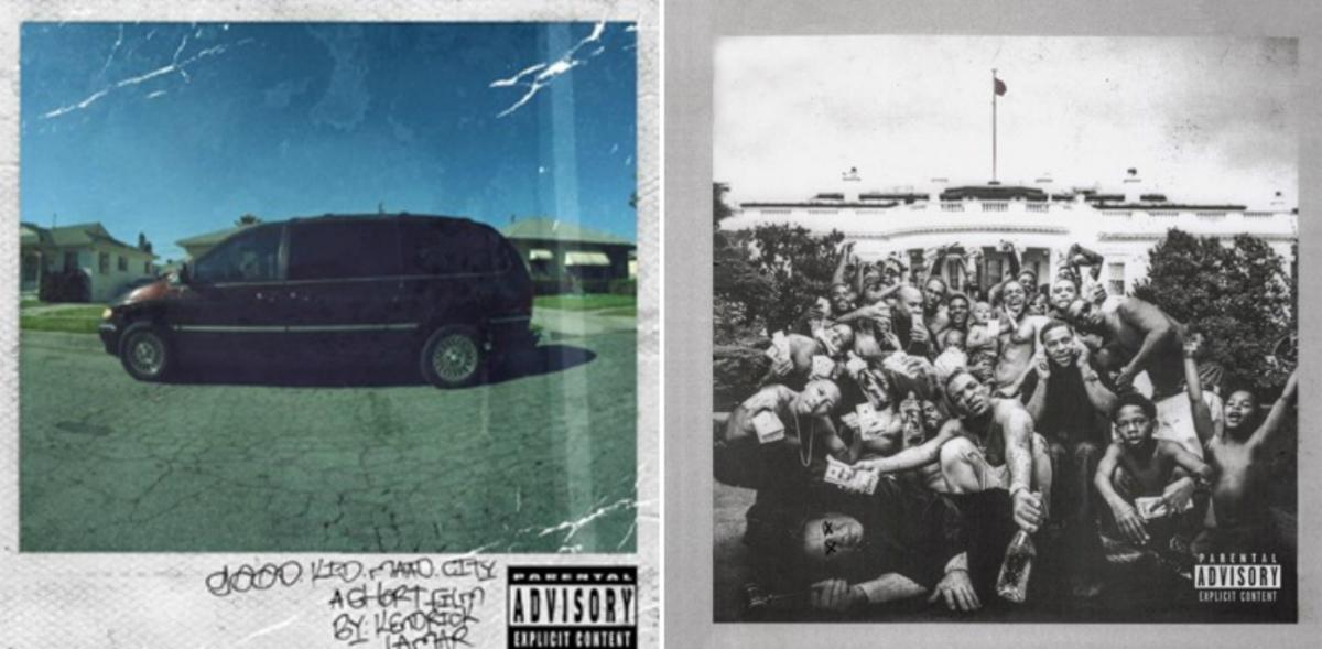 Kendrick Lamar albums