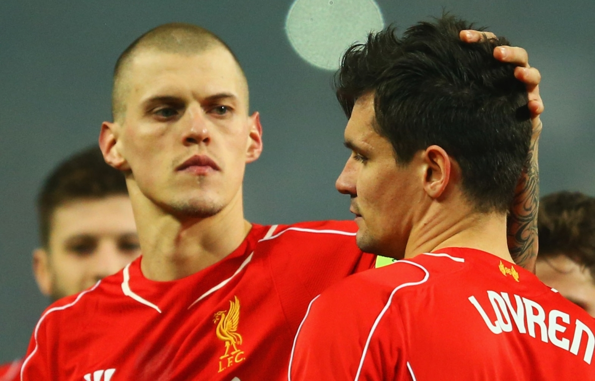 Martin Skrtel and Dejan Lovren