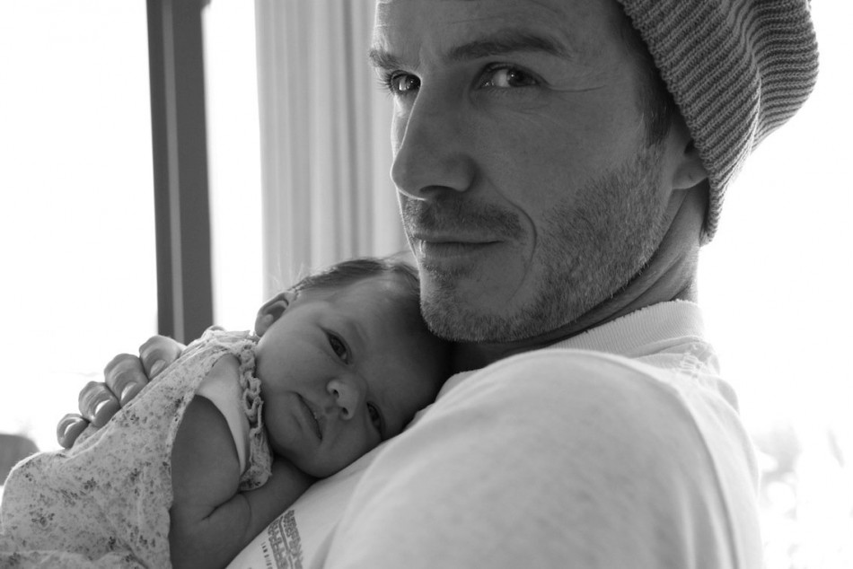 Baby Supermodel: Nine-Month Harper Beckham Offered Modelling Contract