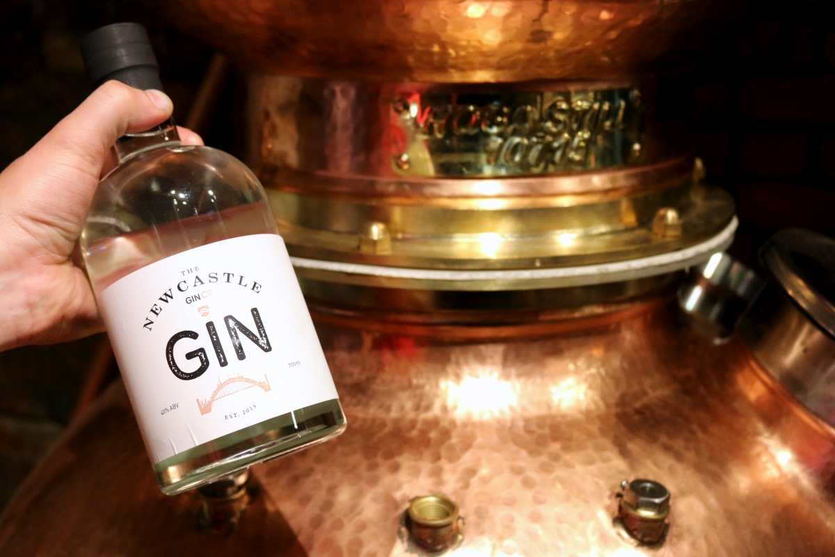 newcastle gin