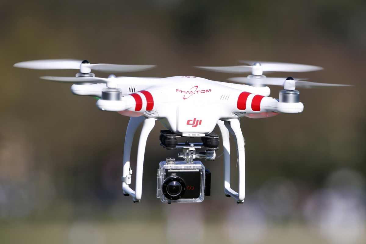 Drone spotted at Swiss nudist resport