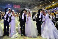 Unification Church mass wedding Seoul