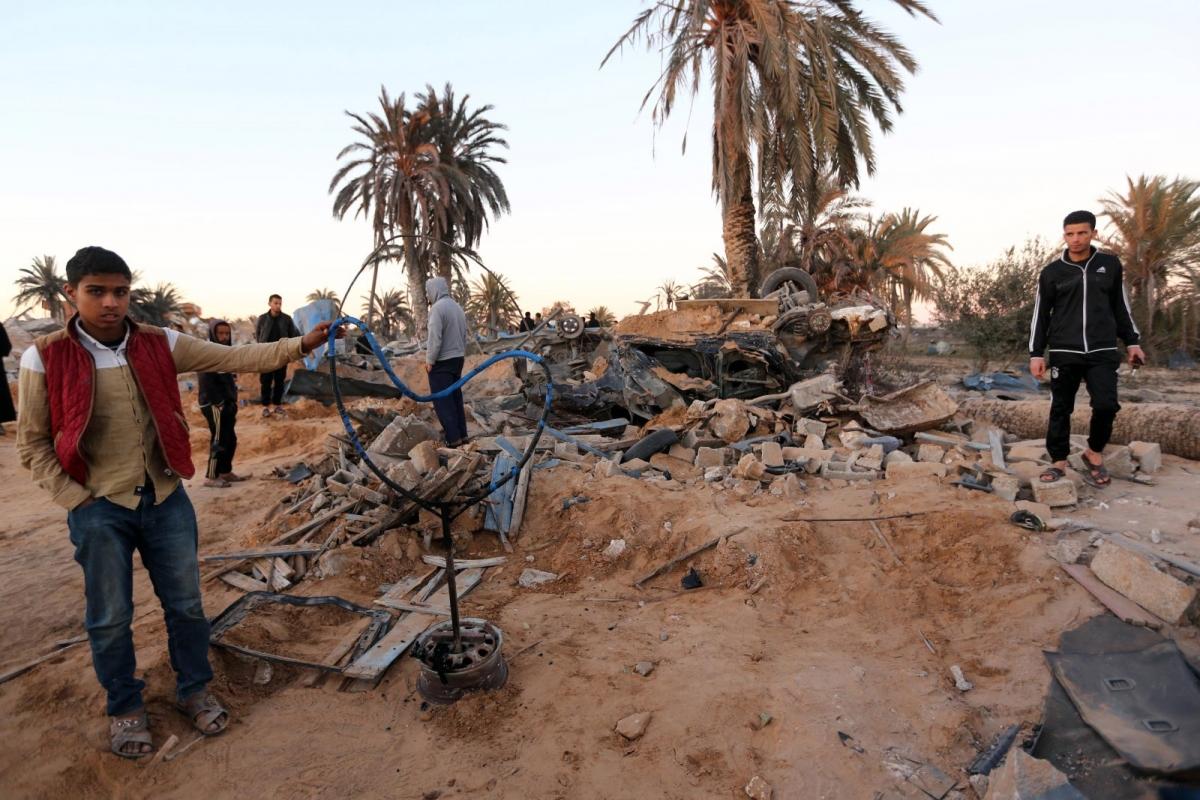 US air strike Sabratha Libya aftermath