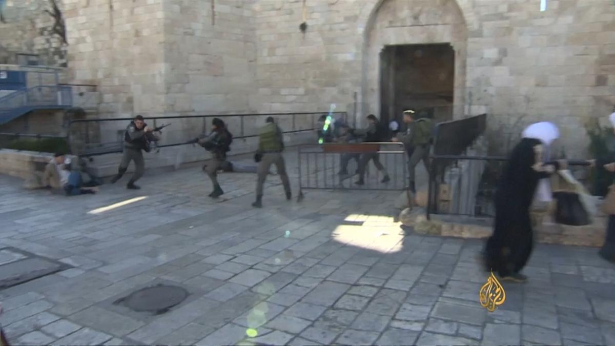 Man shot by israeli army