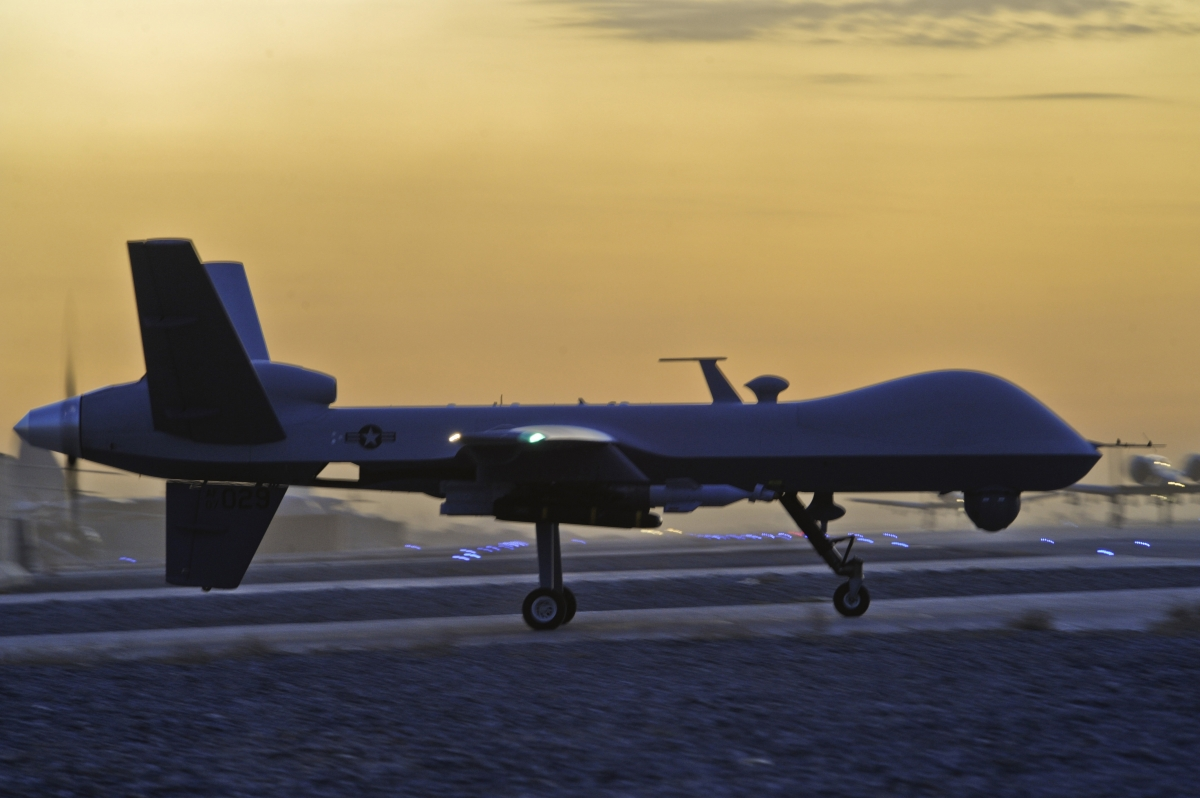 US drone in Afghanistan