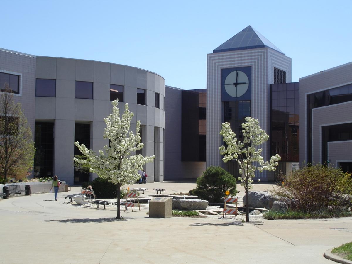 Western Michigan University campus Stewart Clocktower