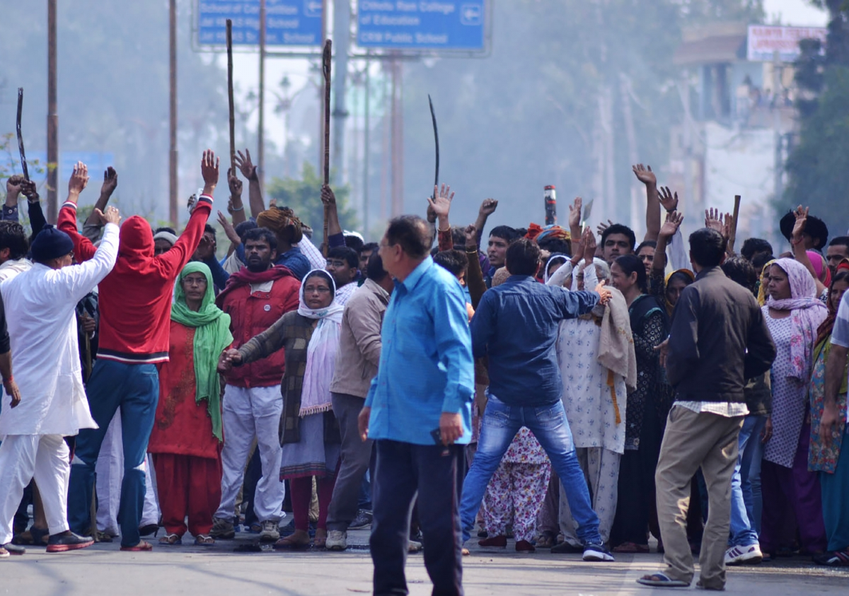 Haryana Jat protests