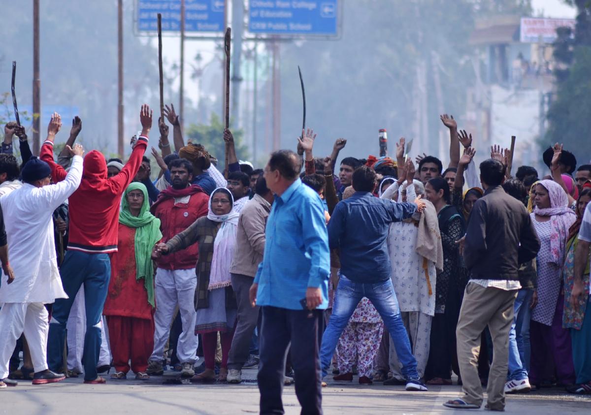 Haryana Jat protests