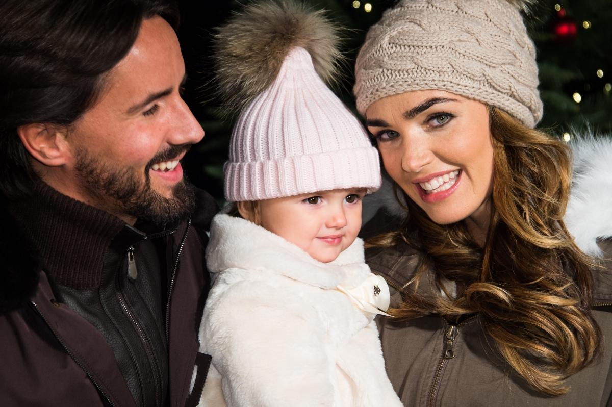 Jay Rutland, Tamara Ecclestone and daughter