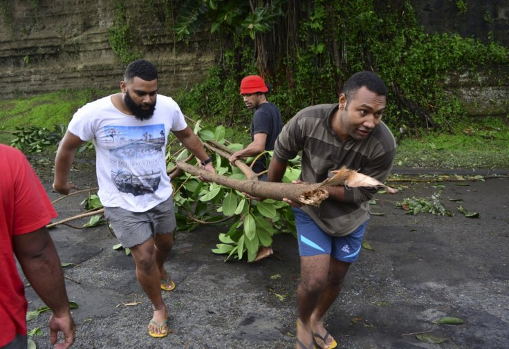 Cyclone Winston flattens entire villages as Fiji declares a