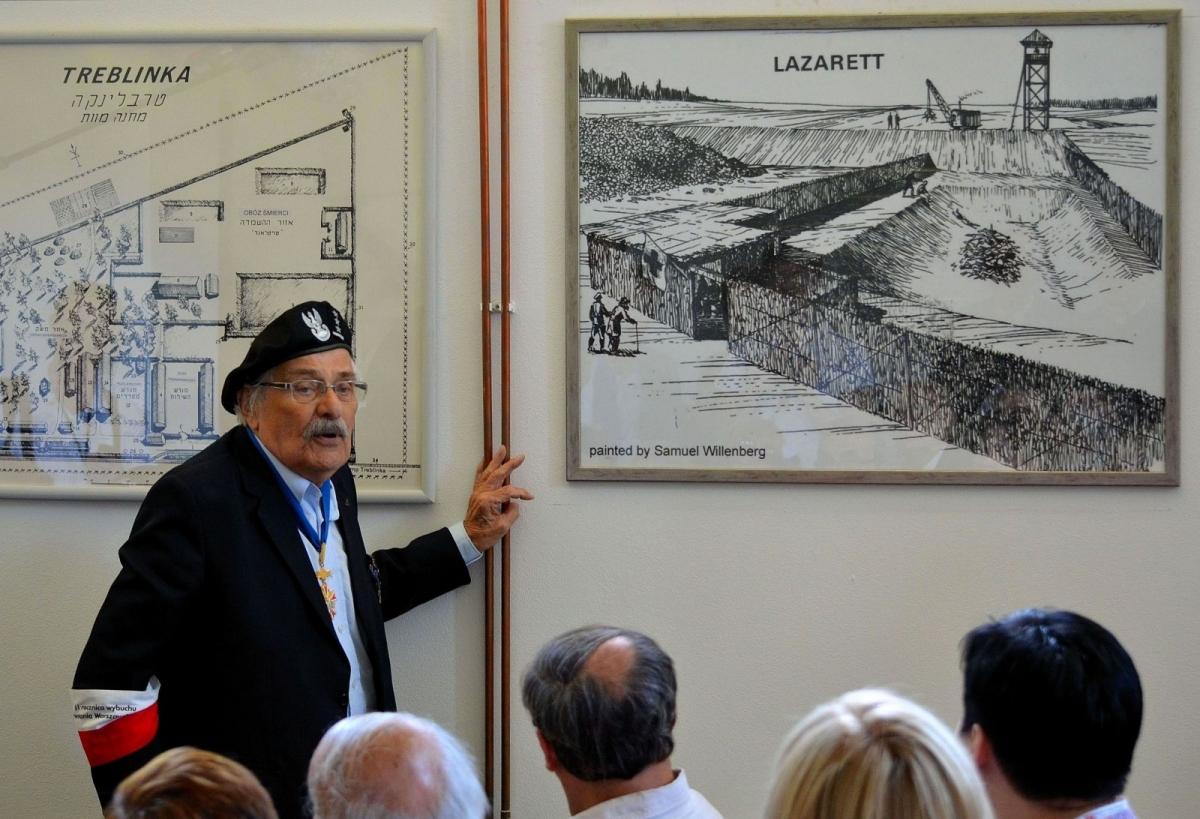 Samuel Willenberg in 2013 Treblinka lecture