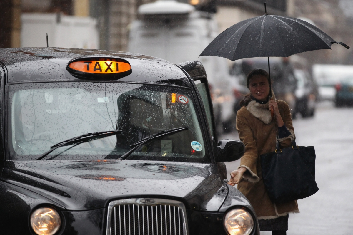 Taxi in the UK