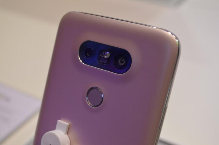 LG G5 pink back
