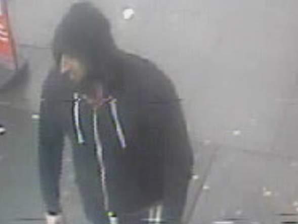 CCTV footage of suspect