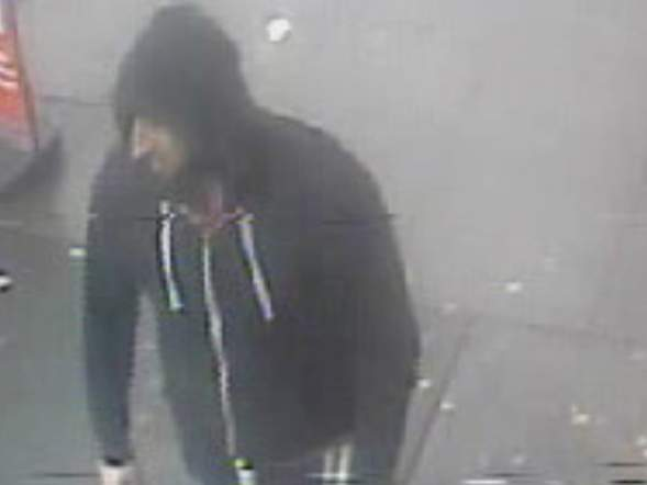 CCTV footage of suspect