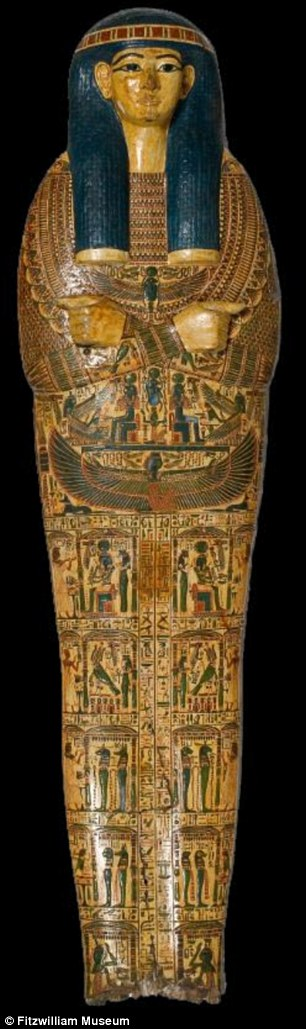 Ancient Egyptian sarcophagus