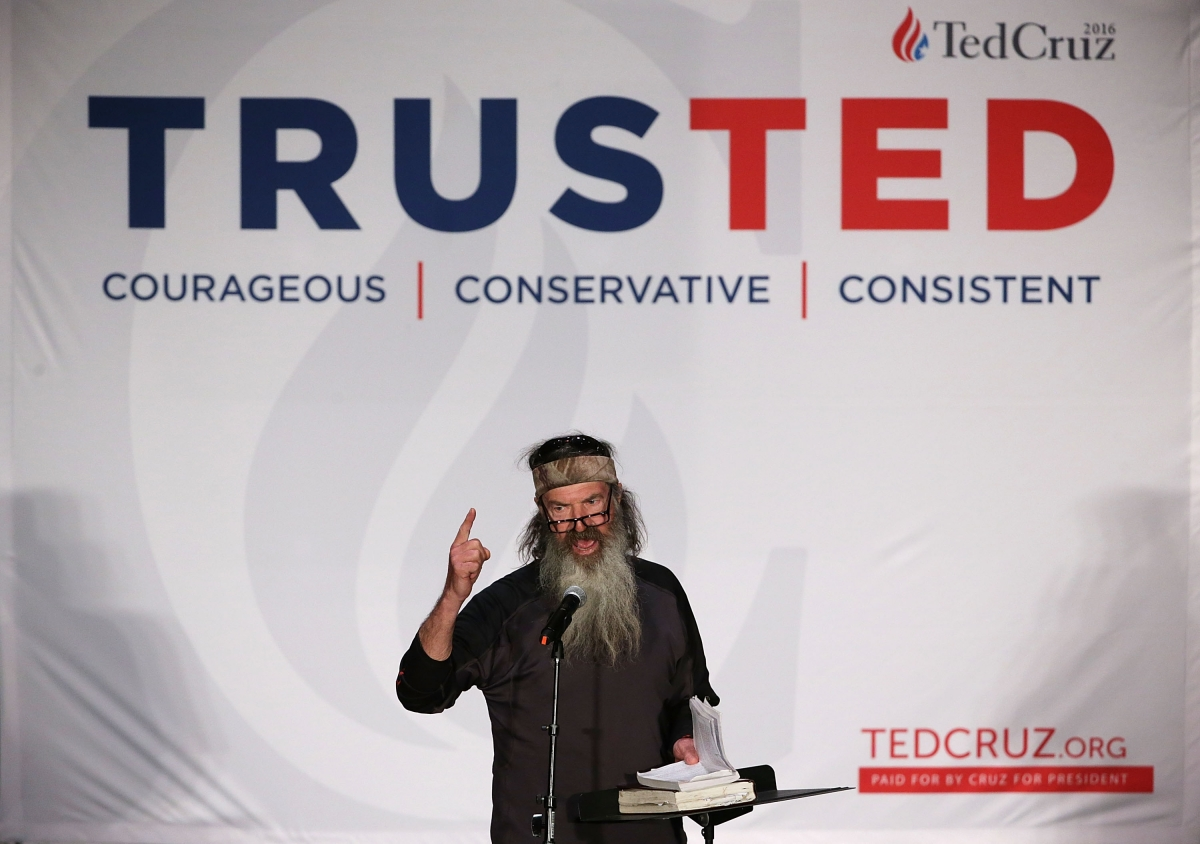Ted Cruz and Phil Robertson