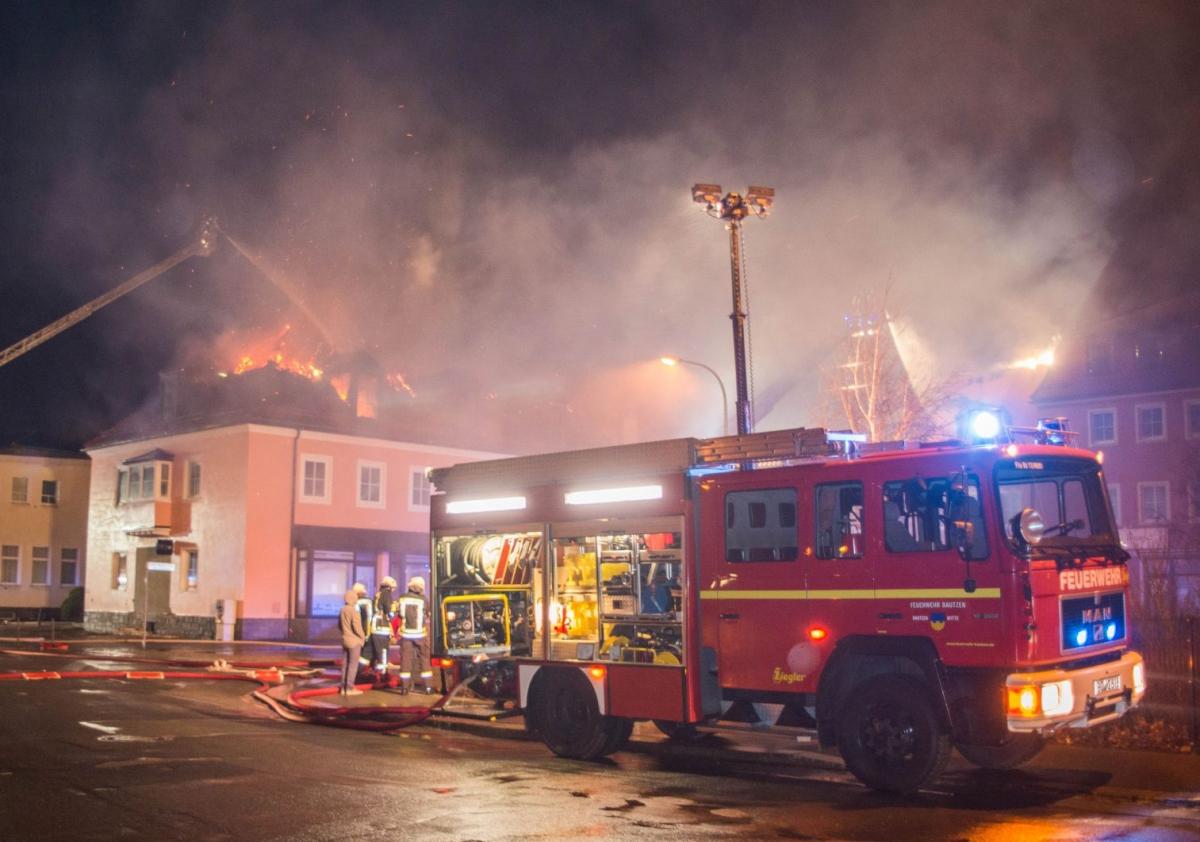 Saxony refugee shelter fire