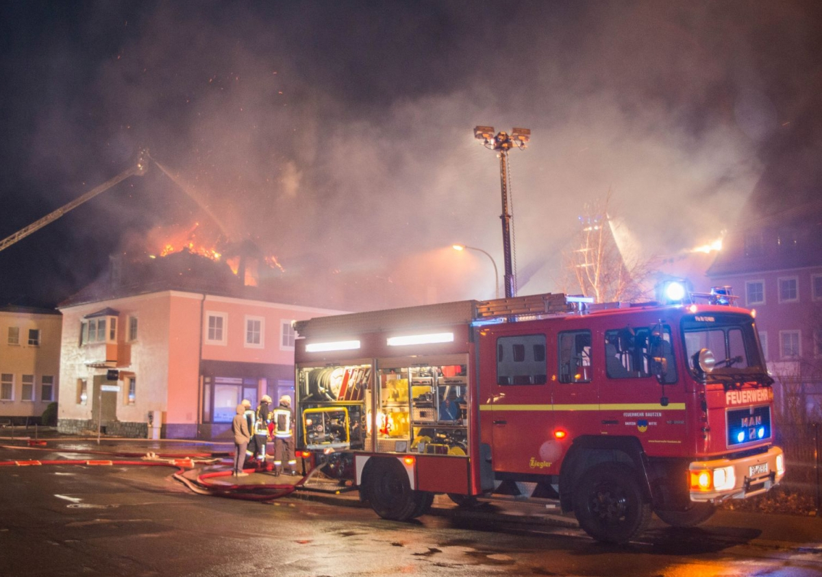 Saxony refugee shelter fire