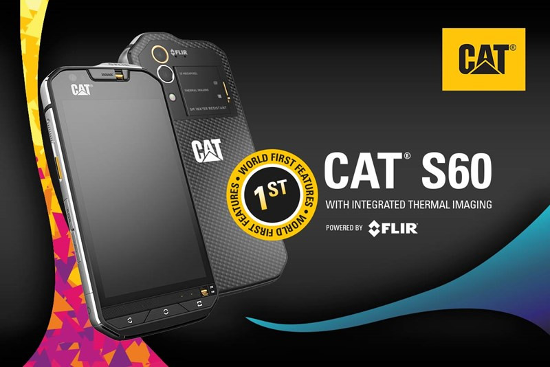 Cat S60: World's first built-in thermal smartphone camera