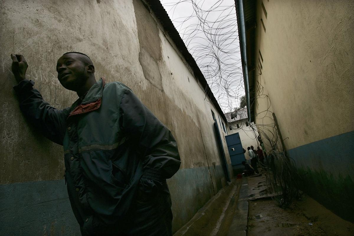 DRC prison