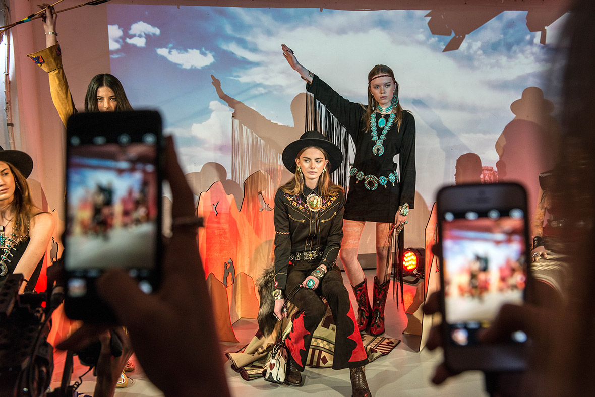 London Fashion Week 2016 backstage