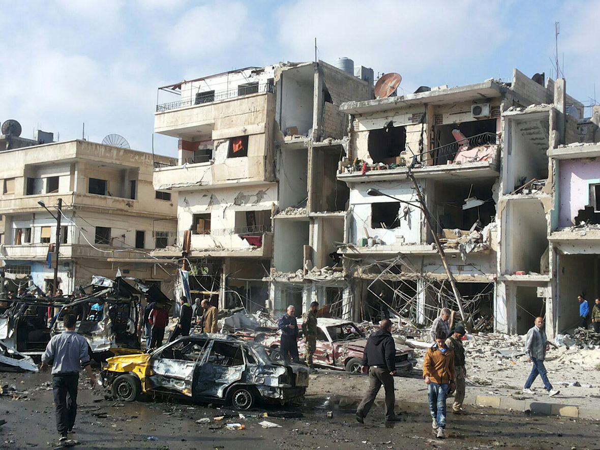 Syria Isis bombings
