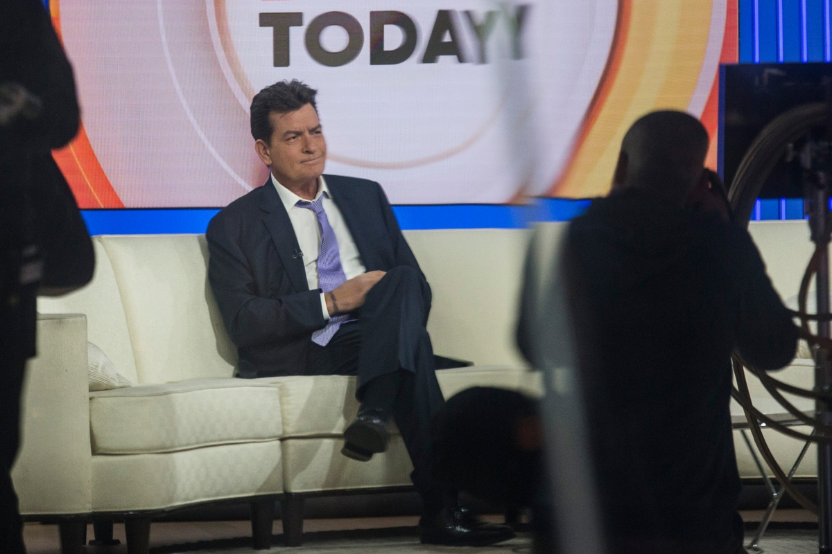 Charlie Sheen on Today show