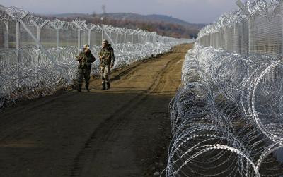 Greece Macedonia border
