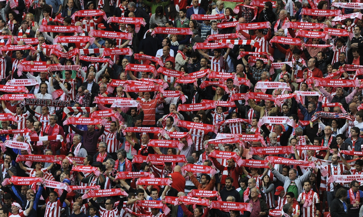 Athletic Bilbao fans