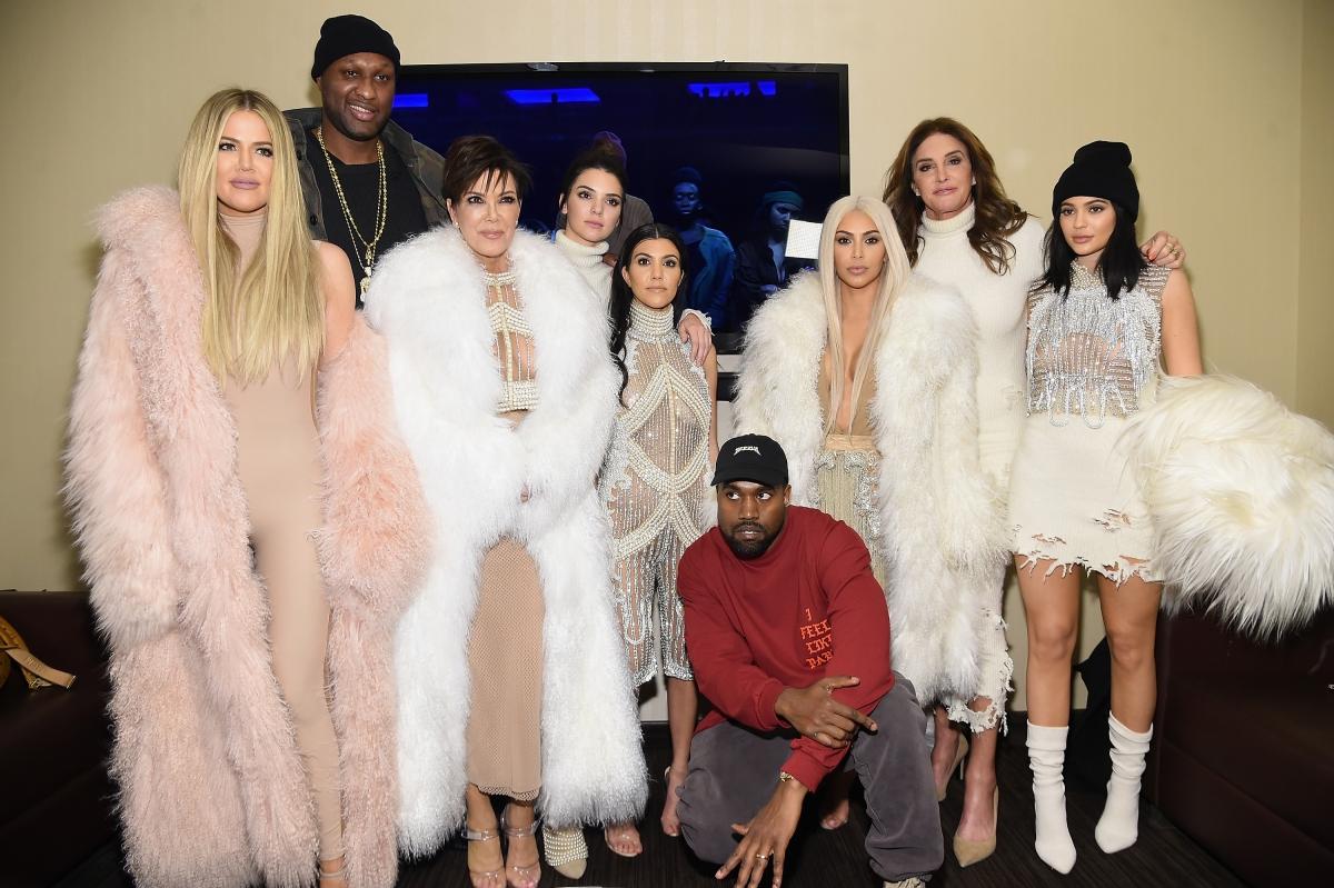 Kanye and Kardashians