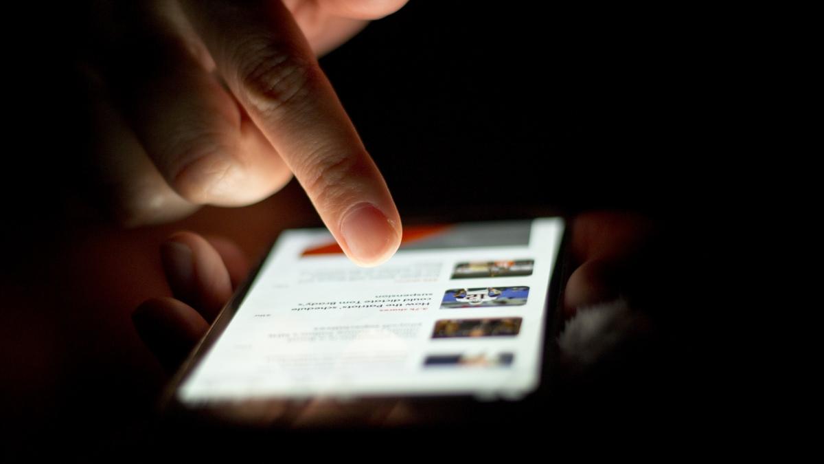 Smartphone malware attack