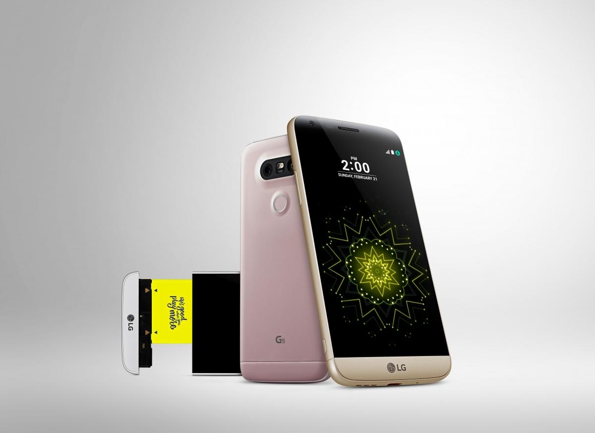 LG G5 modules handset