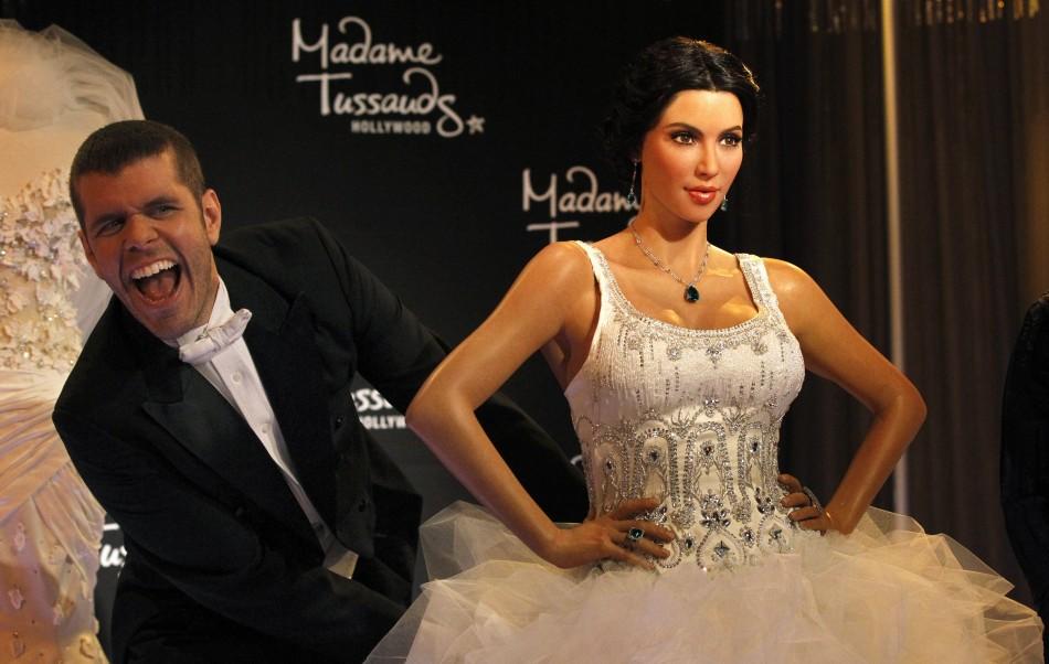 Wax Figure of Kim Kardashian