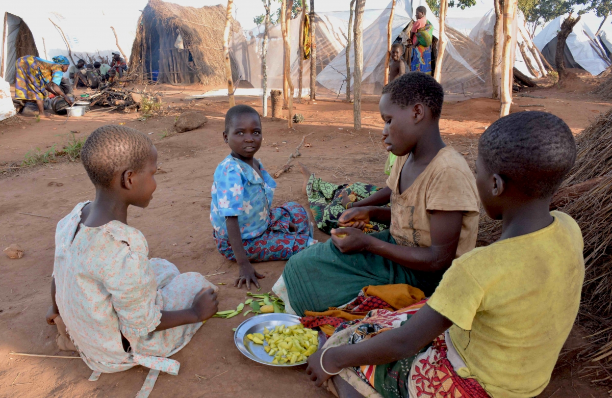 Mozambique refugees in Malawi
