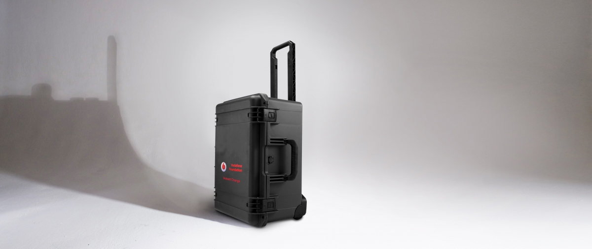 The Vodafone portable charger