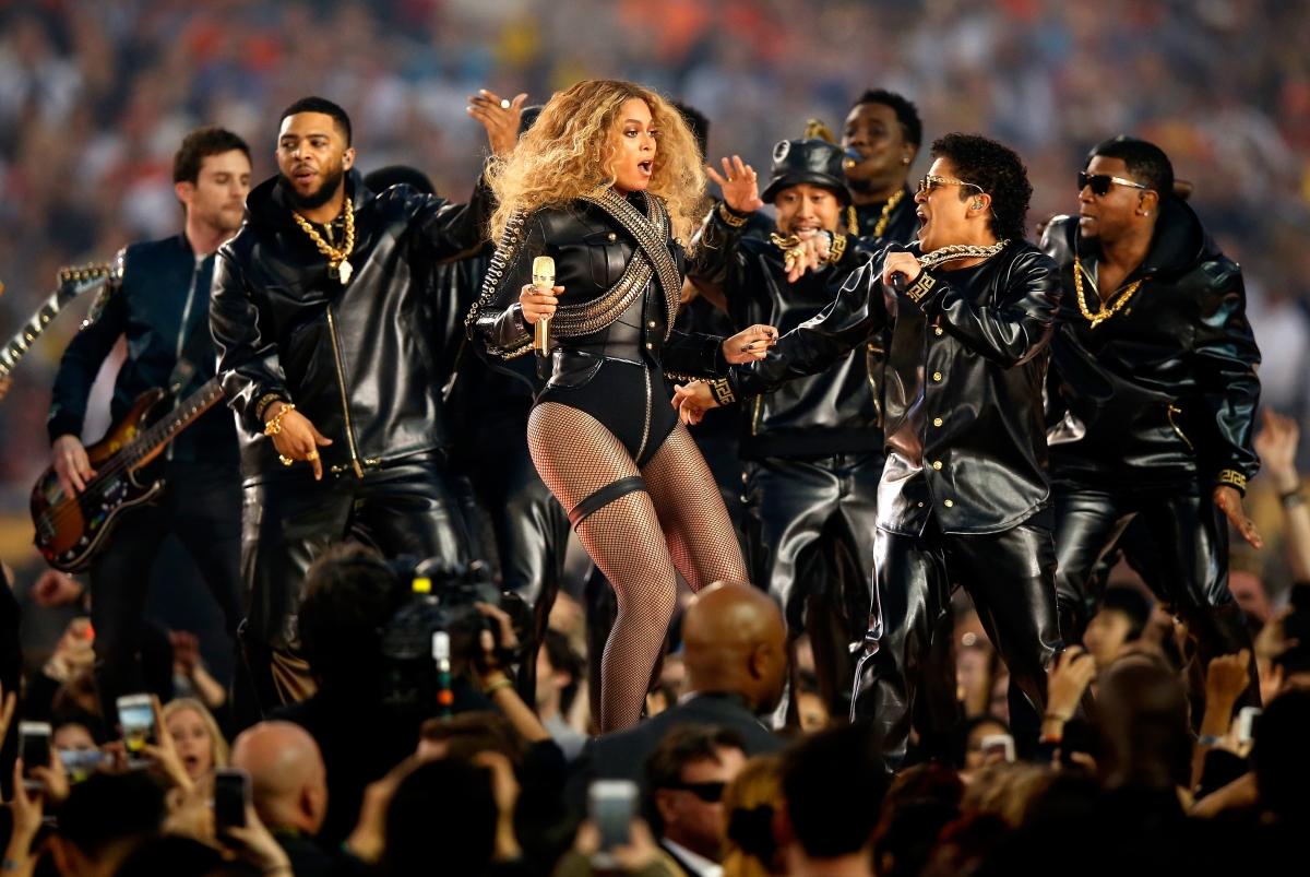 Beyonce Super Bowl performance