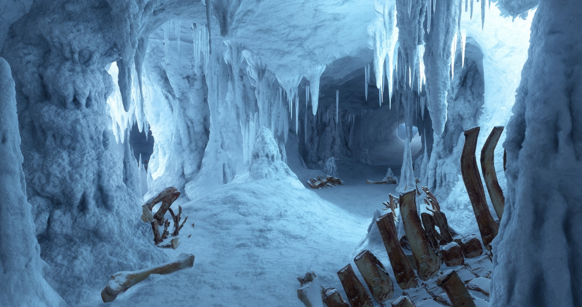 Star Wars Battlefront Hoth Ice Caves