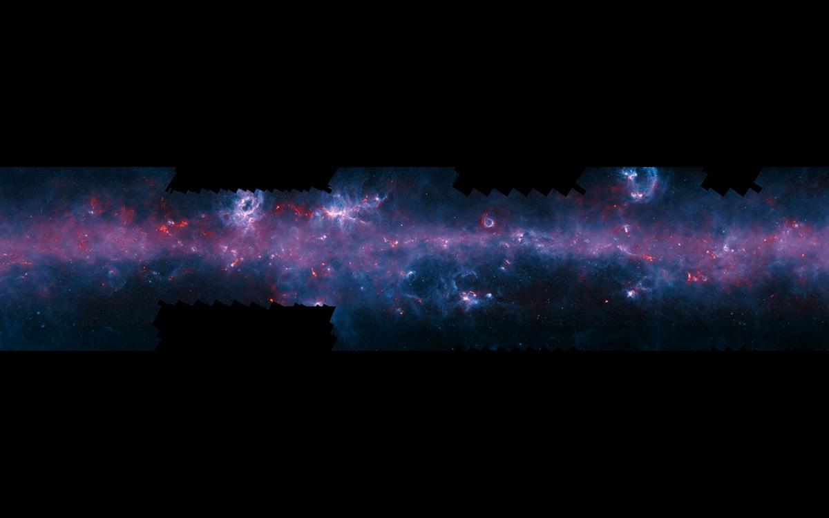ESO milky way APEX