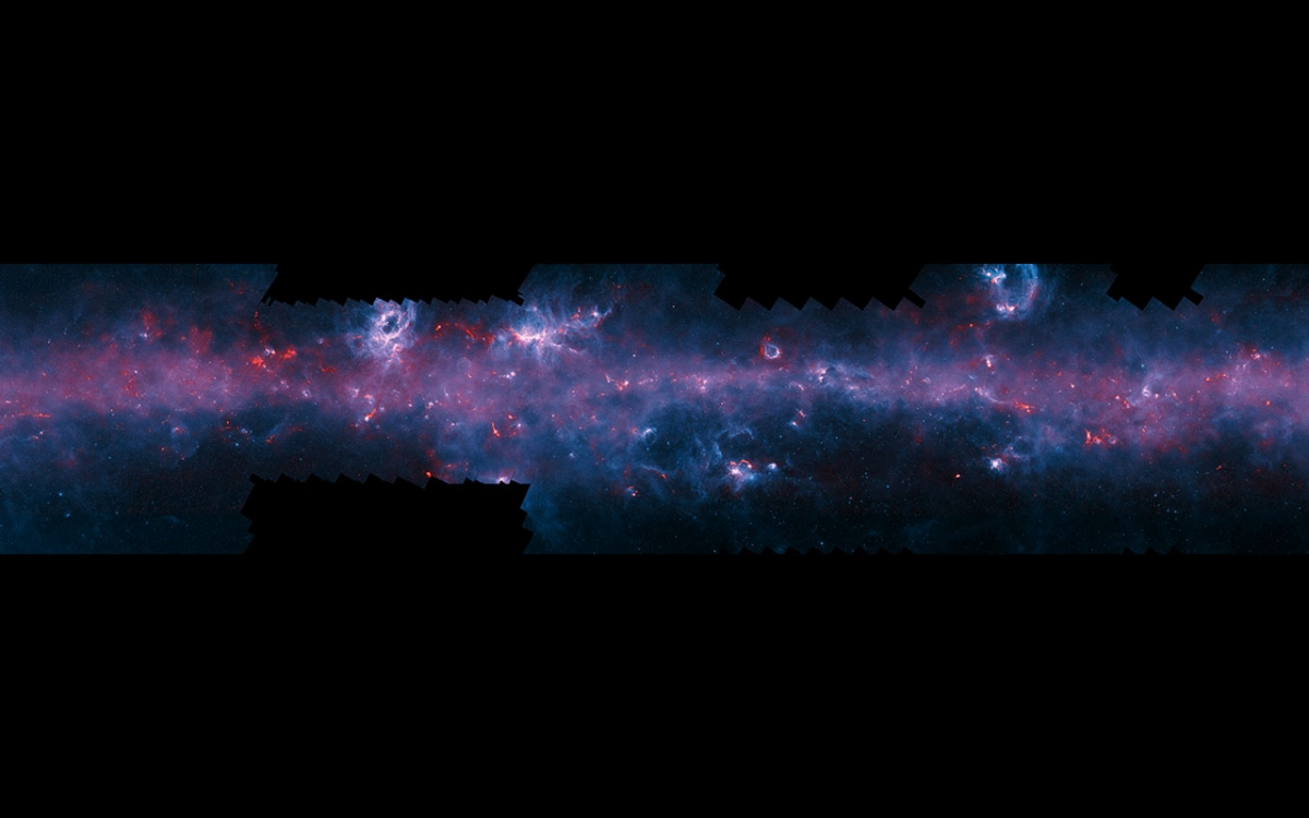 ESO milky way APEX