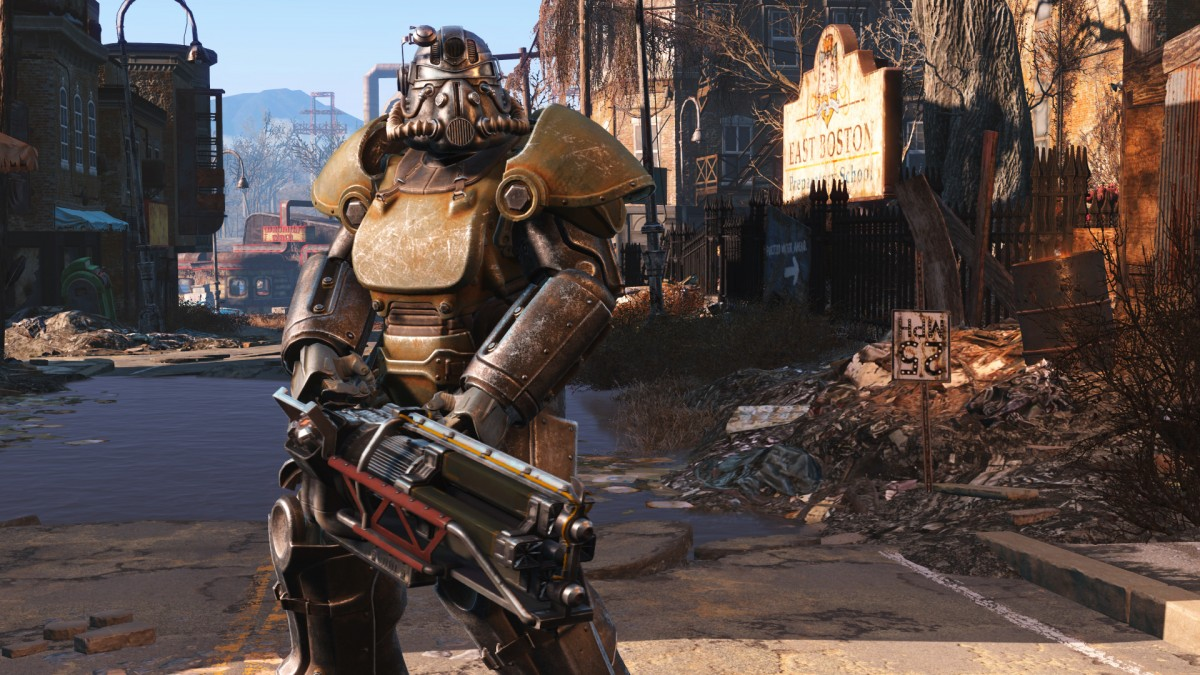 Fallout 4 Power Armour