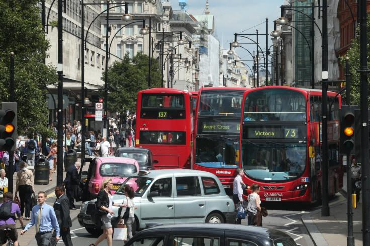 London oxford street jam