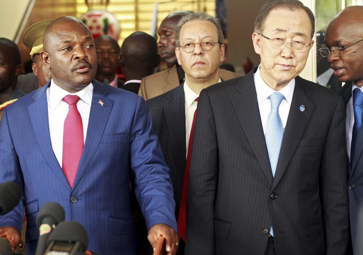 UN visit to Burundi